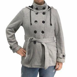 Sebby knit military style jacket